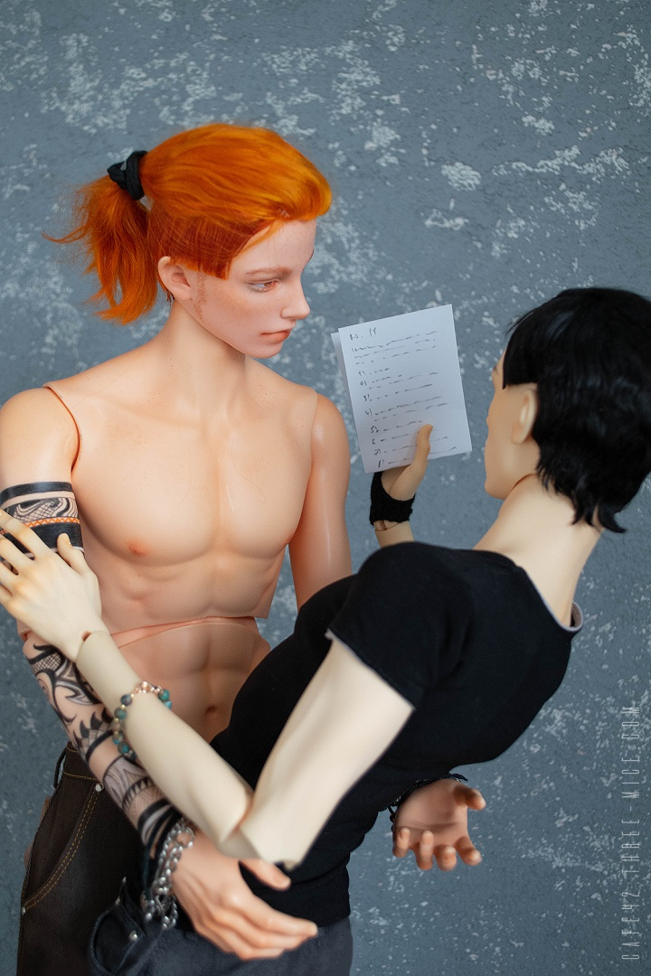 Mark and Gerard. Cafe 42 | BJD